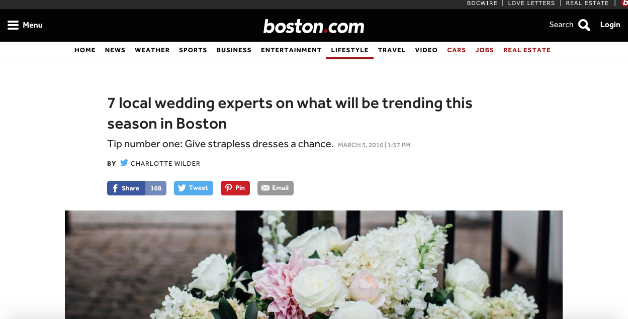 wedding trends