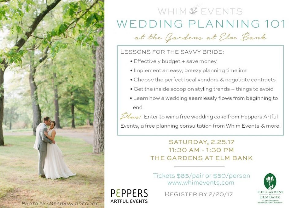 Wedding Planning Checklist Boston