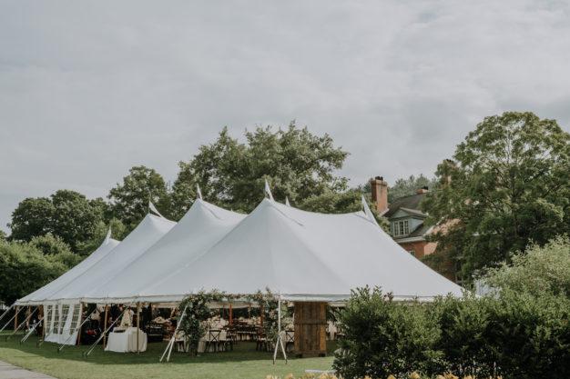 ew England Wedding Tent Inspiration