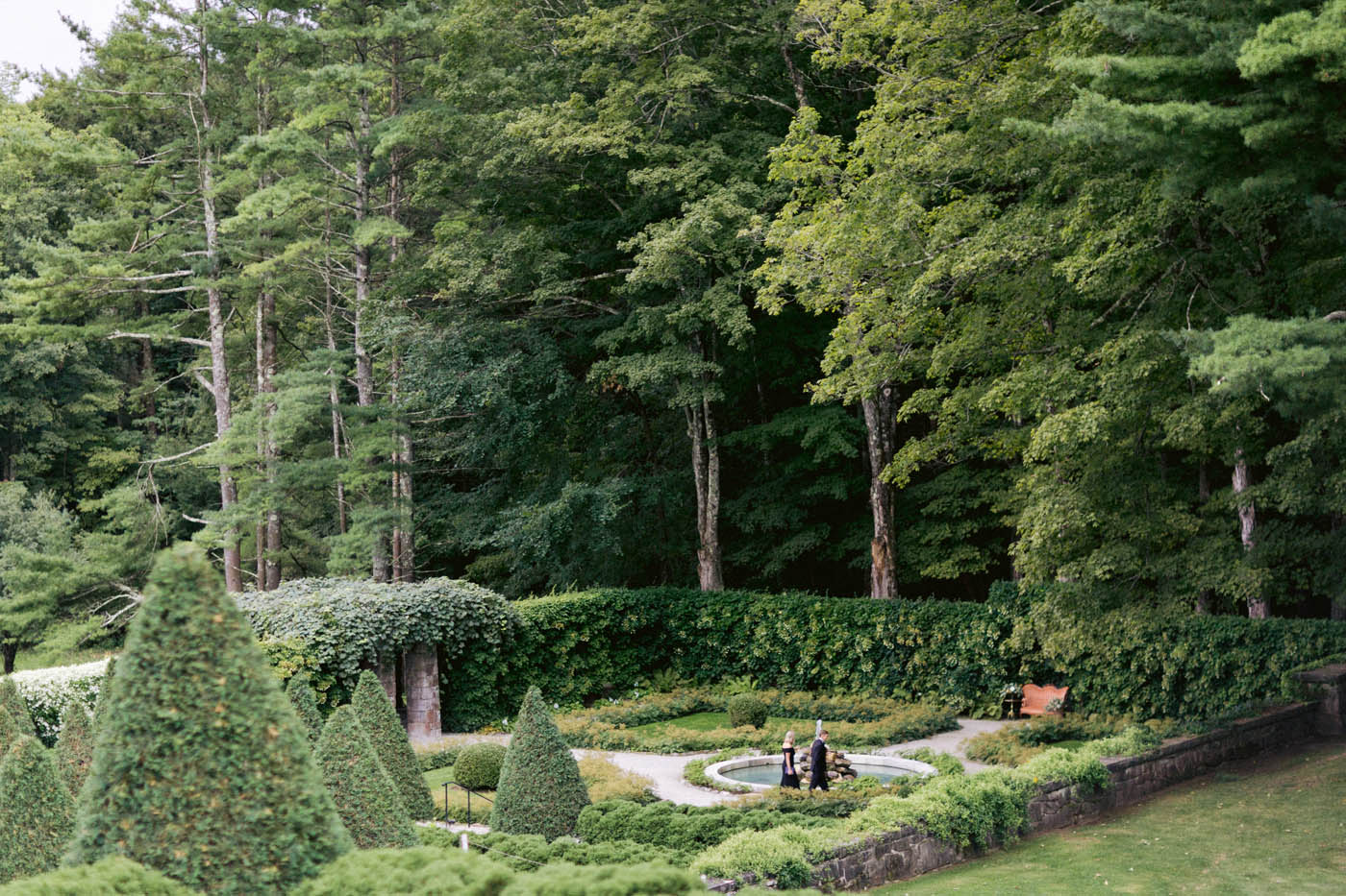 garden wedding venue Berkshires